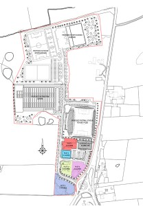 Mill Farm Site Plan